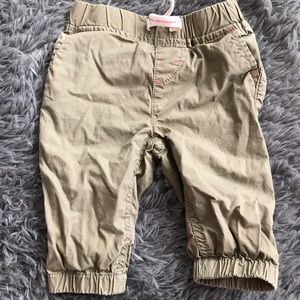 5/$25 JOE FRESH khaki style pants waist tie